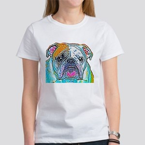 Bulldog in Color Women's T-Shirt